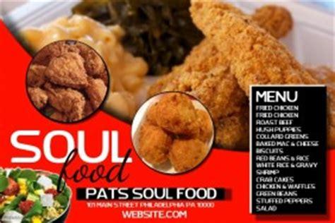 Soul Food Flyer Templates