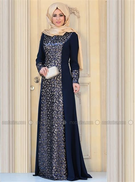sofia evening dress navy blue zehrace abaya style navy blue navy and abayas