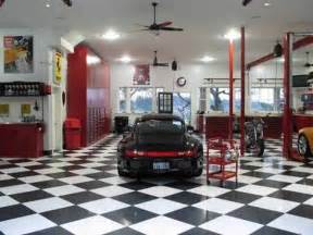 garage design interior designs cool chess flooring ideas for