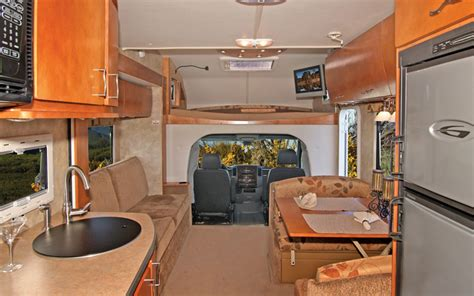 Little Motorhomes May Be the Perfect Fit   Class B Motorhomes Buyers' Guide   Truck Trend