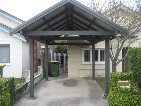 Single Carport by Timber Products Thomsons Outdoor Pine