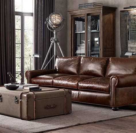 lancaster sofa for sale greatroom lancaster leather sofas lengths 60 quot 72