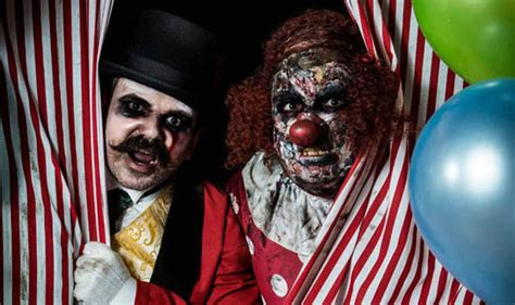theme park owned by a television clown on the simpsons theme park clowns told not to scare after work uk news