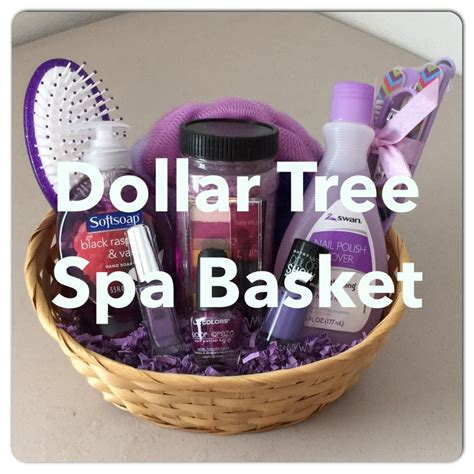 inexpensive home design gifts diy dollar tree spa gift basket for s day valentines birthday