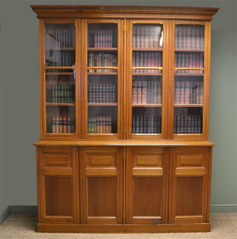 library bookshelves for sale satin walnut antique library bookcase dresser