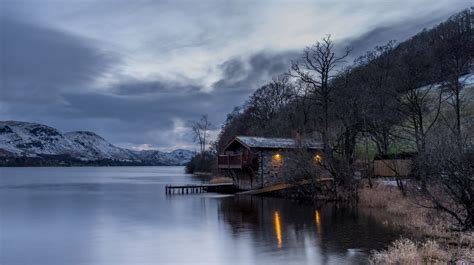 lake district boat house the boat house ullswater the lake district cumbria
