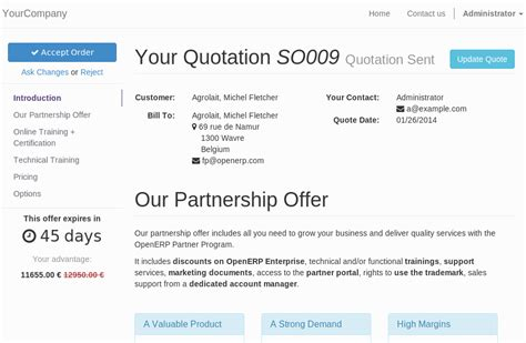 email quotation to customer smart way business solutions quote builder