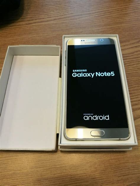 samsung galaxy note  gold gb  wireless charger secondhandmy