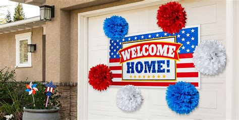 welcome home party decorations welcome home party supplies theme parties party city