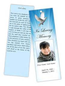 funeral programs and memorial cards bookmarks prayer cards