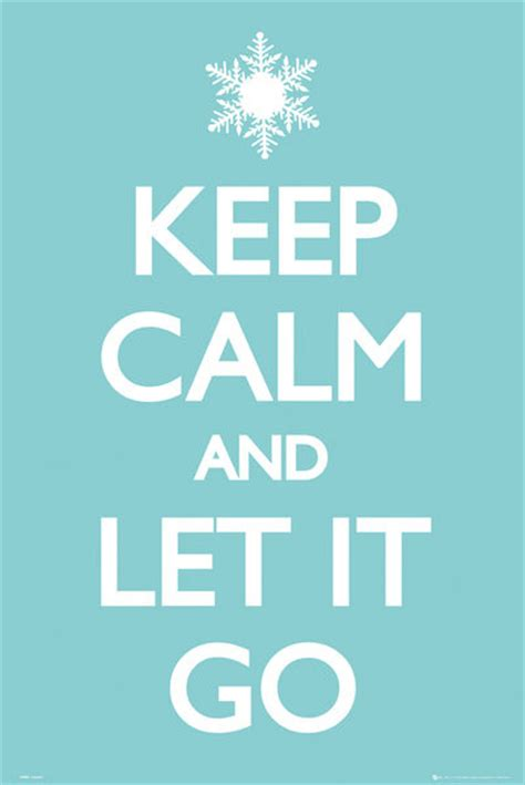 Next Doormat Keep Calm And Let It Go Poster Sold At Europosters