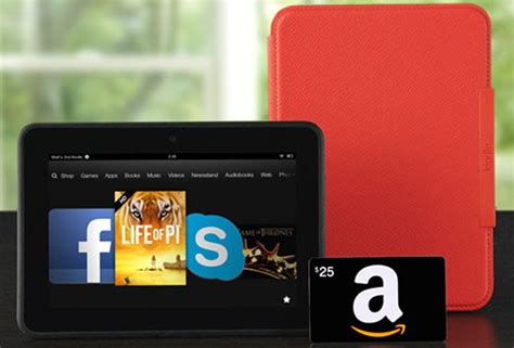 Kindle Fire Hd Gift Card - kindle fire hd case 25 amazon gift card 144 00 shipped 254 value