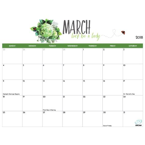 printable march 2018 calendar templates march 2018 calendar calendar monthly printable