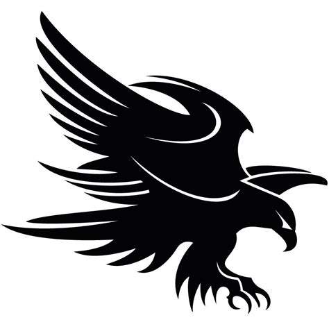 Free Eagle Clipart Black And White