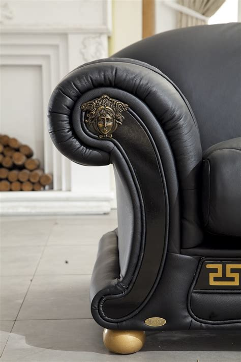 versace sofas for sale versace italian leather classic sofa set