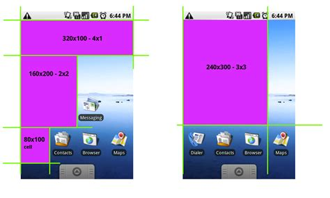 android app layout landscape portrait android widget design guidelines