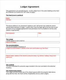 Free Lodger Agreement Template sle eviction notice template 37 free documents in