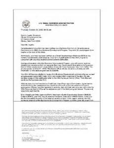 Self Certification Notification Letter Ny Classic Environmental Inc Asbestos Lead Abatement