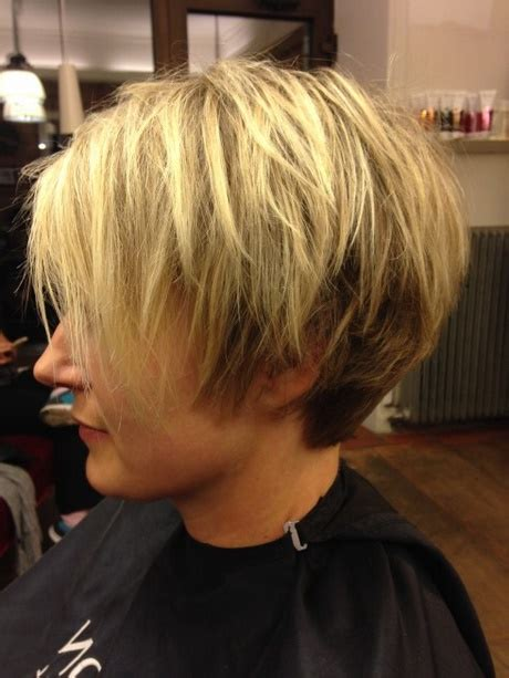 korta frisyrer bakifran
