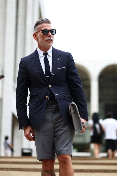 nick wooster breaking boundaries of style shorts amp blazer