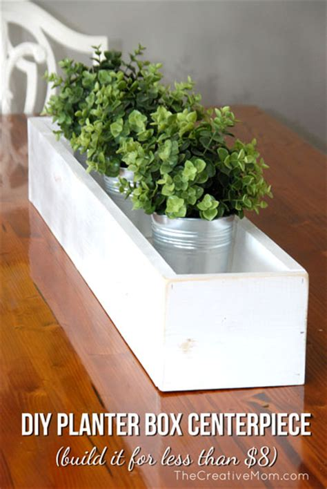 diy planter box centerpiece build it for 8