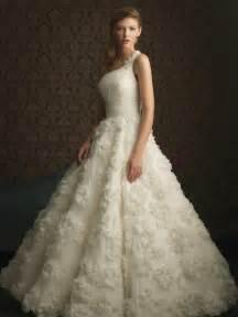formal wedding dresses ivory floral lace gown unique formal wedding dress zoombridal prlog