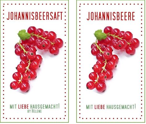 Etiketten Johannisbeergelee by 25 Best Ideas About Johannisbeersaft On
