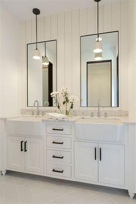 modern bathroom ideas modern farmhouse bathroom decor ideas with cabinets design