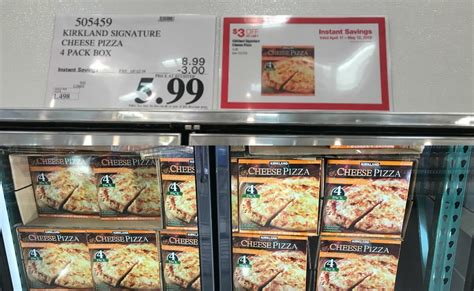 costco hot deal  kirkland signature cheese pizzaliving rich  coupons