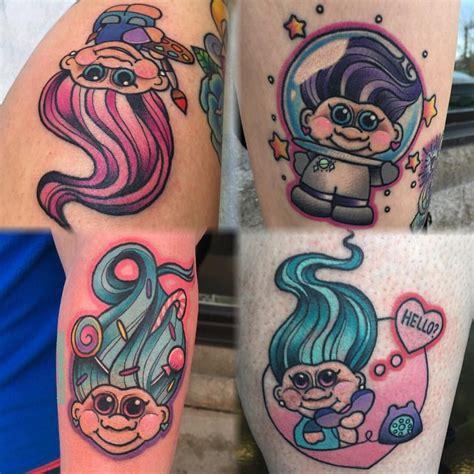 troll tattoo troll tattoos lindseebeetattoo tattoos