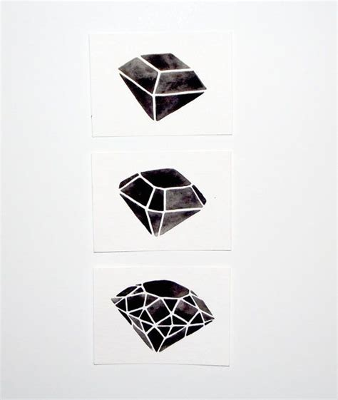 watercolor tattoo diamond 1000 images about de diamante on