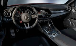Alfa Romeo Giulia Alfa Romeo Giulia Reveals Its Dashboard