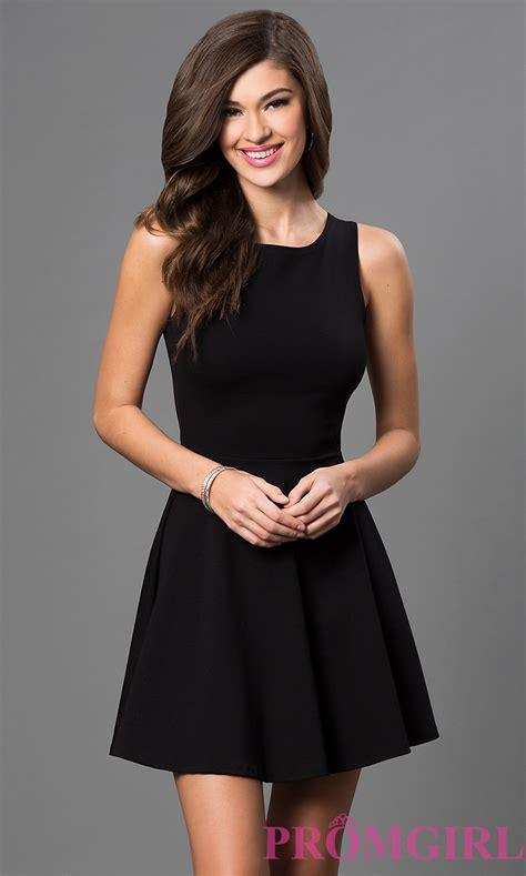 Short Sleeveless Little Black Dress Promgirl I M Goin Design Your Own Semi Formal Dress