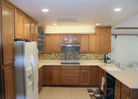 recessed lights in kitchen simple small house decor golden secret of decorating home roohome