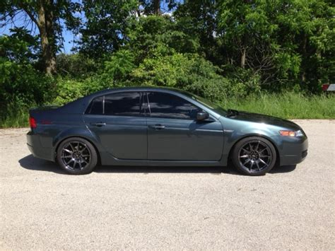 acura tl base fs 2004 dgp acura tl base 5at lowered on xxr 527