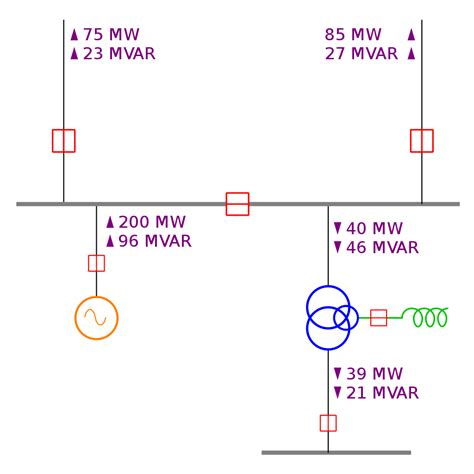 Saklar Switch Medium 4 Pin On Abu Abu B10 N2363 file one line diagram svg wikimedia commons