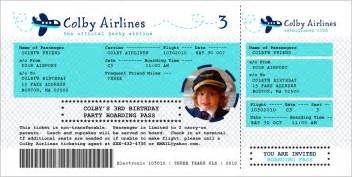 Airline Ticket Template Invitation by Airline Ticket Template New Calendar Template Site