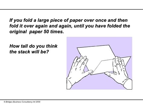 Folding Paper 50 Times - sing health smu load