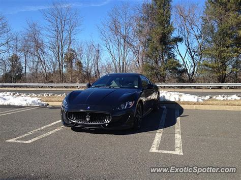 Maserati Nj maserati granturismo spotted in freehold new jersey on 02