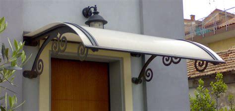 tettoie per portoni esterni tettoie e pensiline in ferro per esterni di abitazioni a