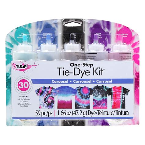 tie dye your summer tulip one step carousel tie dye kit