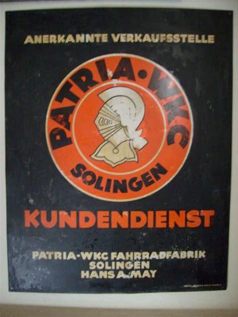 Motorrad Ankauf Solingen by Patria Wkc Solingen Schilderjagd Alte Emailleschilder