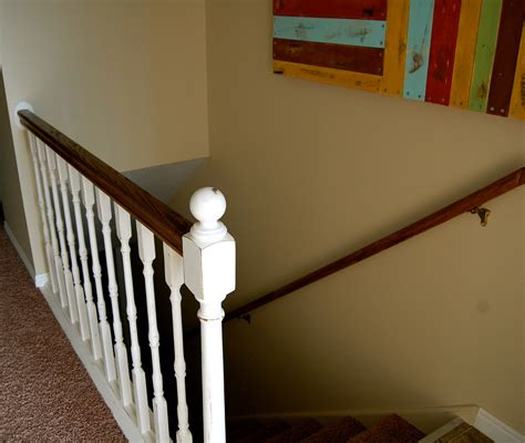 handrail banister the polka dot umbrella banister and handrail refinish
