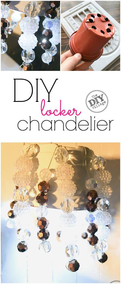 how to make a locker chandelier diy locker chandelier for the crafty the diy