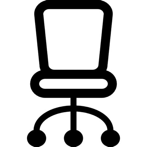 Room Sketch Free chair of small size for office icons free download