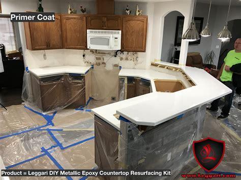 primer coat pic   diy metallic epoxy countertop
