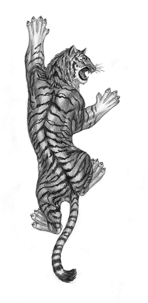 climbing tiger tattoo designs tiger by lapis lazuri on deviantart