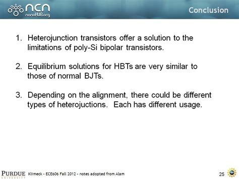 transistor bipolar conclusion transistor bipolar conclusion 28 images nanohub org resources ece 606 lecture 32 mos