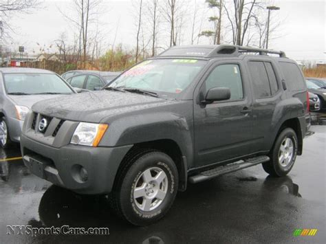 dark gray nissan 2008 nissan xterra s 4x4 in night armor dark gray 539438