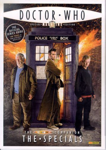 dr who specials doctor who magazine special edition 25 the doctor who